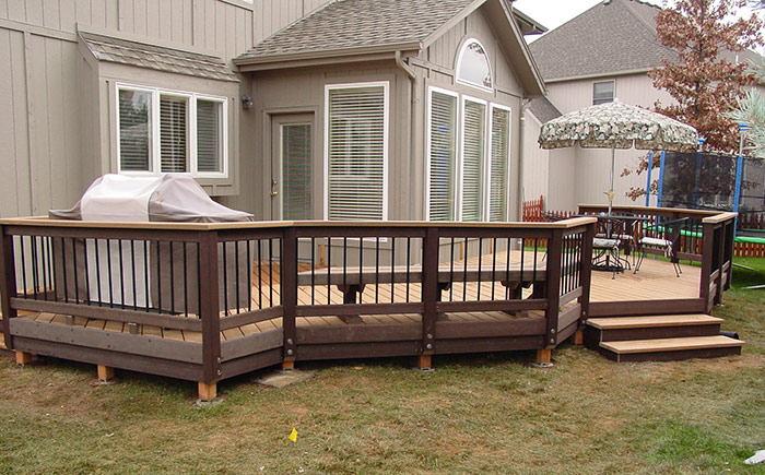 Custom Deck Projects In Kansas City Outdoor Environments