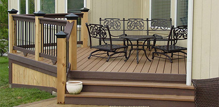 low profile decks and patios